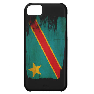 Congo Flag Cover For iPhone 5C