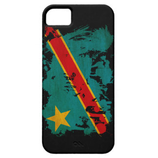 Congo Flag iPhone SE/5/5s Case