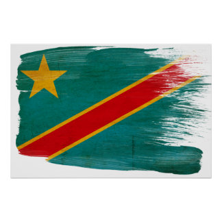 Congo Flag Posters