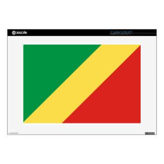 Congo Flag Skin For Laptop