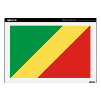 Congo Flag Skins For Laptops
