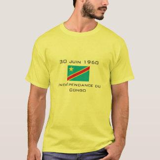 Congo Independence - Flag 30 juin 1960 T-Shirt