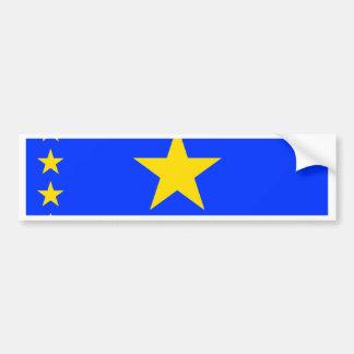 Congo Kinshasa Flag Bumper Stickers