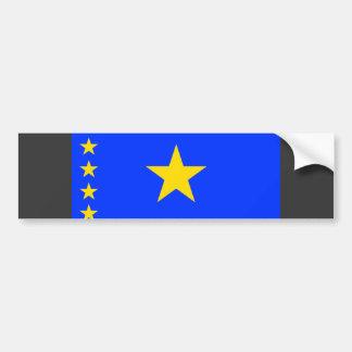 Congo Kinshasa Flag Bumper Sticker