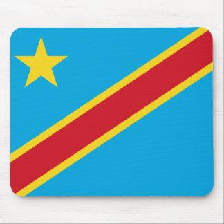 Congo-Kinshasa Flag Mousepad