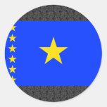 Congo Kinshasa Flag Sticker