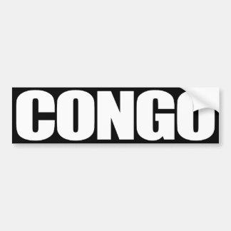 Congo Pegatina Para Auto