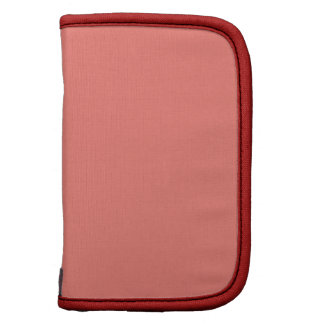 Congo Pink Barn Red Fashionable Colorful Folio Planner