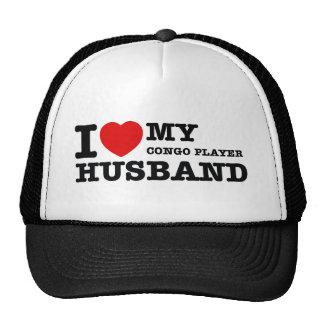 Congo Player Husband Designs Trucker Hat