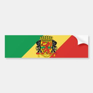 congo republic emblem bumper sticker