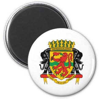 congo republic emblem magnet