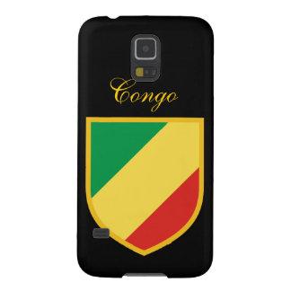 Congo Republic Flag Galaxy S5 Case