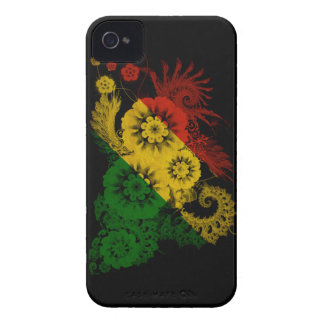 Congo Republic Flag iPhone 4 Case-Mate Case