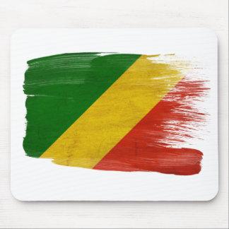 Congo Republic Flag Mousepads