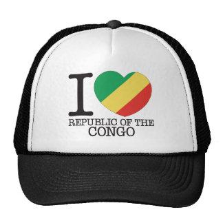 Congo Republic Love v2 Mesh Hat