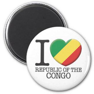 Congo, Republic of the Refrigerator Magnet