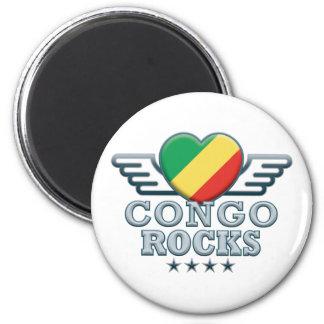Congo Rocks v2 Magnet