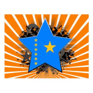 Congo Star Postcard
