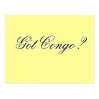 Congo T-shirt & Etc Postcard