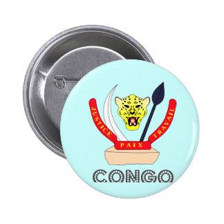 Congolese Emblem Buttons