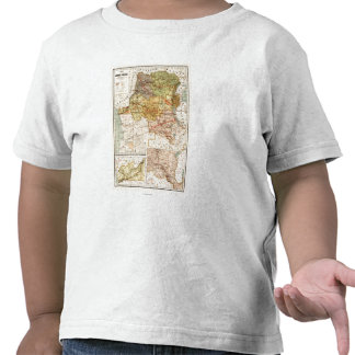 CongoPanoramic MapCongo Camiseta