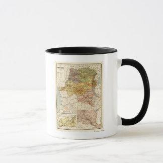 CongoPanoramic MapCongo Mug