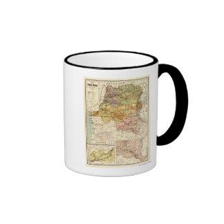 CongoPanoramic MapCongo Ringer Mug