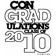 conGRADulations Class 2010 Blue T-Shirt shirt