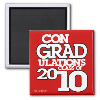 conGRADulations Class of 2010 Red Magnet