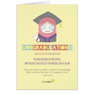 ¡Congradulations! (Hembra) Tarjeta De Felicitación