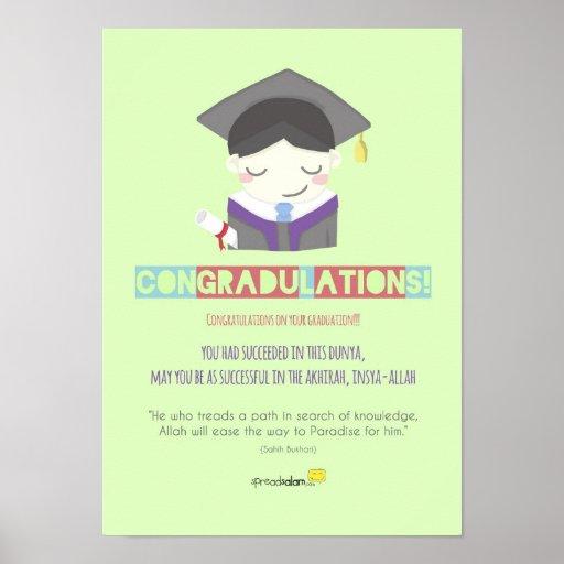 ¡Congradulations! (Varón) Impresiones