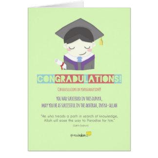 ¡Congradulations! (Varón) Tarjeta De Felicitación