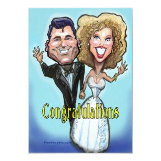 Congrat Wedding Cake Dolls Card