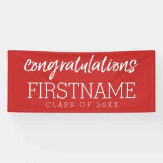Congratluations Class of 2017 Graduation Banner