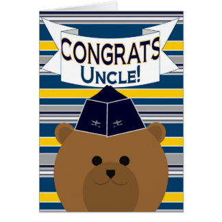 Congrats - Air Force / Uncle Card