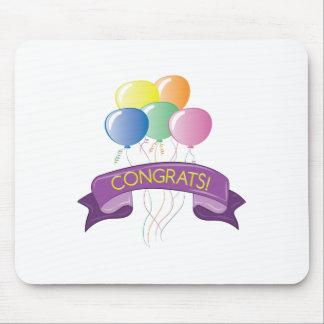 Congrats Balloons Mouse Pad