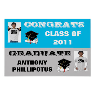Congrats Class of 2011 Banner Poster Add Photo 1