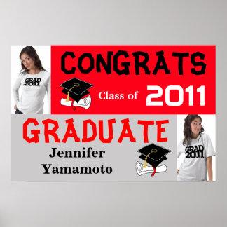 Congrats Class of 2011 Banner Poster Add Photo 2