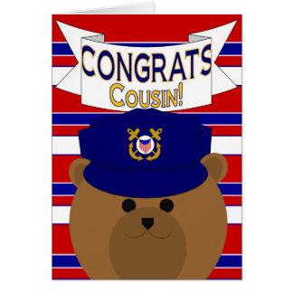 Congrats - Coast Guard - Cousin Card