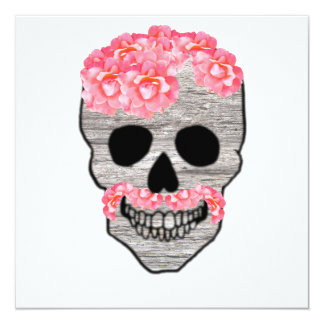 Congrats!  Day of the Dead hipster skull card