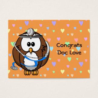 congrats Doc Love Business Card