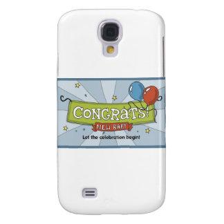 ¡Congrats en el nuevo bebé! Funda Para Galaxy S4