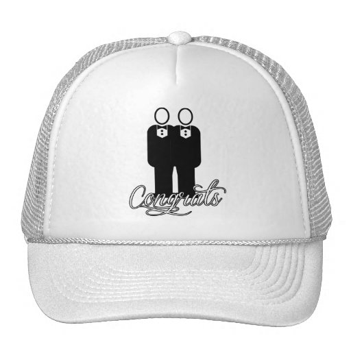 CONGRATS GAY MARRIAGE -.png Mesh Hat