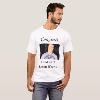 Congrats Grad Celebrate Photo T-Shirt