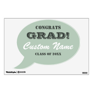 Congrats Grad | Graduation Wall Decals