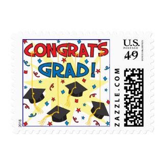 Congrats Grad Postage