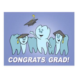¡Congrats, graduado! Tarjeta Postal