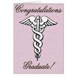 Congrats, Graduate, Medical Field Greeting Card