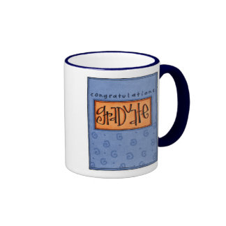 congrats graduate ringer mug