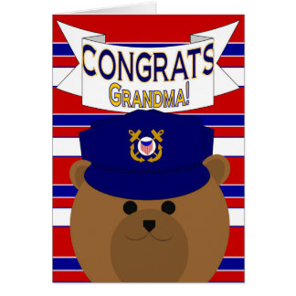 Congrats - guardacostas - abuela/abuela tarjeta de felicitación